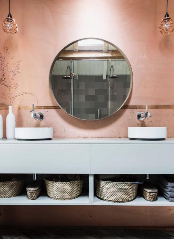 Épinglé sur Une salle de bain terracotta