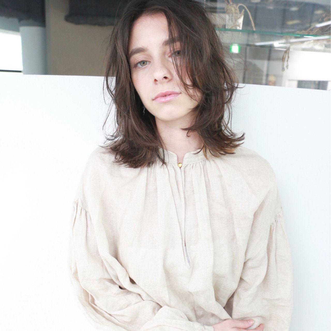 高橋 忍さんのヘアカタログ | 大人かわいい,外国人風,ダークカラー