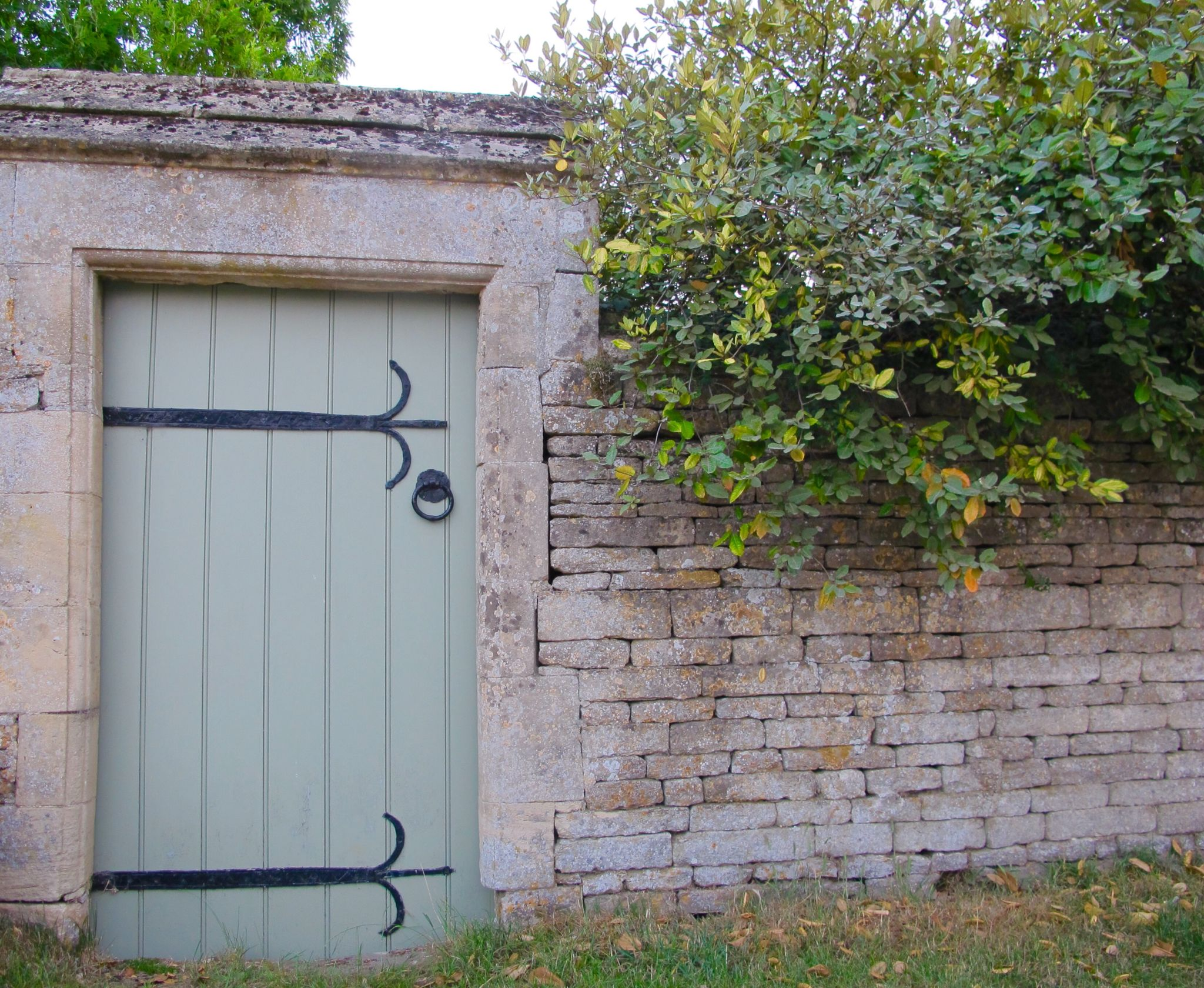 Majestic walls and intriguing doors