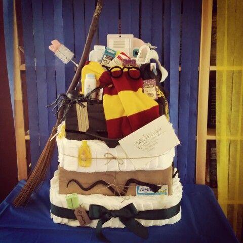 Harry Potter Diaper Cake. :). Baby Shower ...