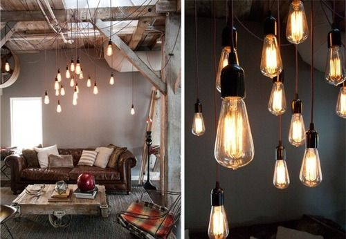 rustic interior lighting. Rustic Interior Lighting. How Cool Are These Pendant Lamps In This Living Room? Lighting Deerest