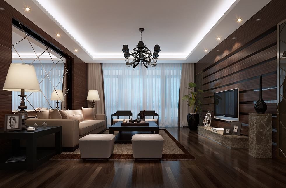 Mirror Wall Love The Entire Space Best Living Room Design Small Living Room Design Modern Houses Interior