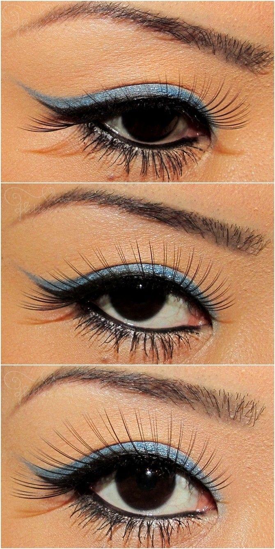Soft Blue Makeup!