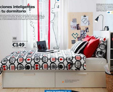 Ideas de decoración; habitaciones juveniles de Ikea 2014