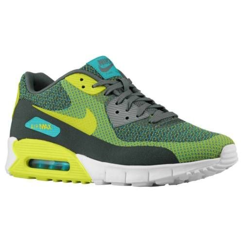 big sale 48f8e ba9d7 Nike-Air-Max-90-Jacquard-JCRD-Turbo-Green -Venom-Dark-Sport-New-631750-301-NEW