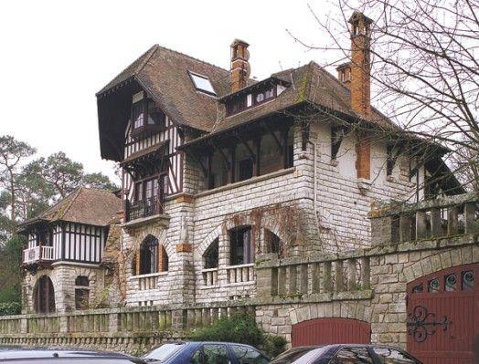 Villa le Clos Barbeau BoisleRoi  Maisons de banlieue du XIXime sicle