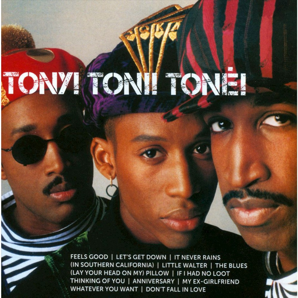 Tony! Toni! Tone! - Icon:Tony Toni Tone (CD) in 2019