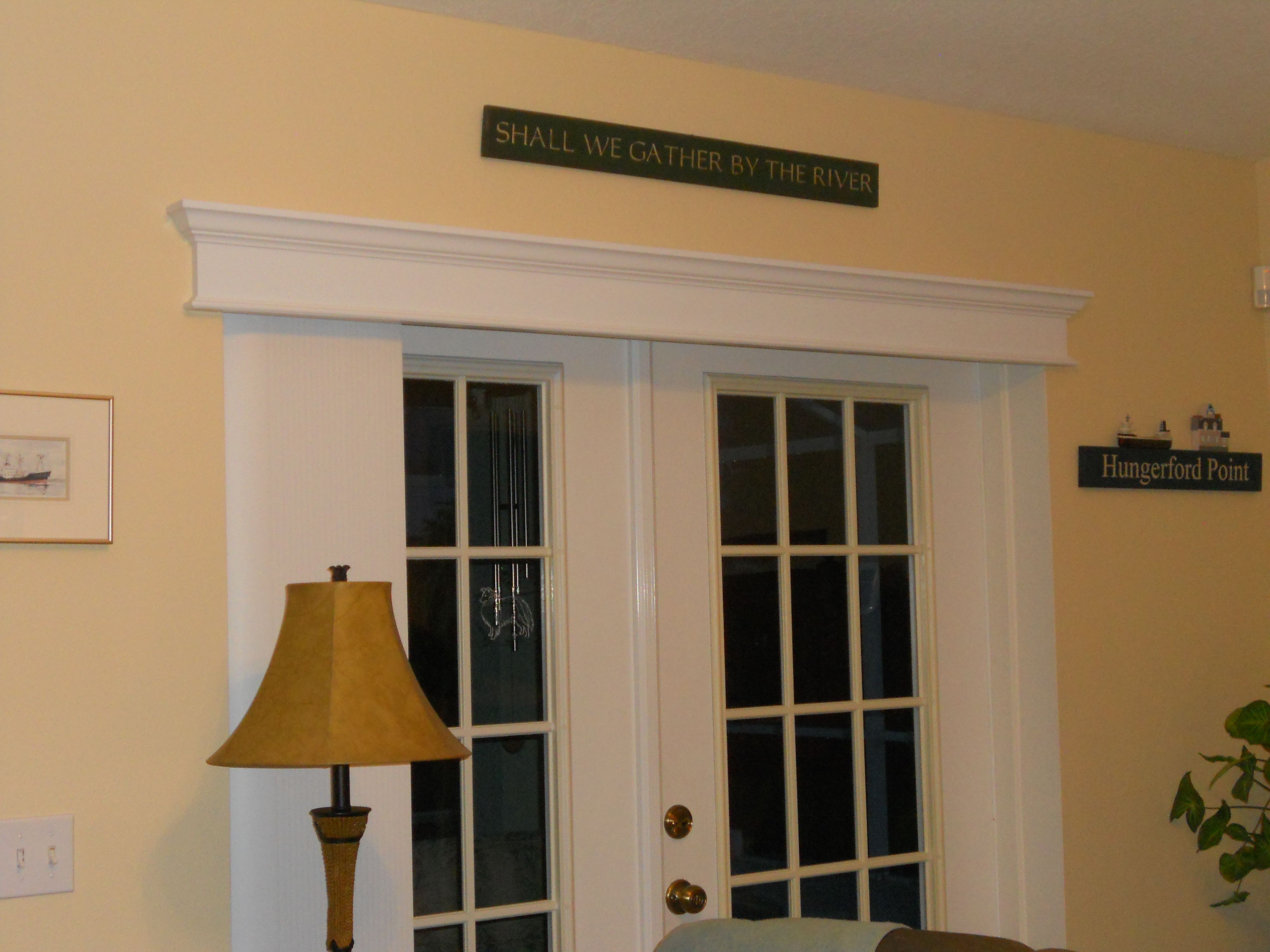 Cornice Molding To Cover Vertical Blind Headers