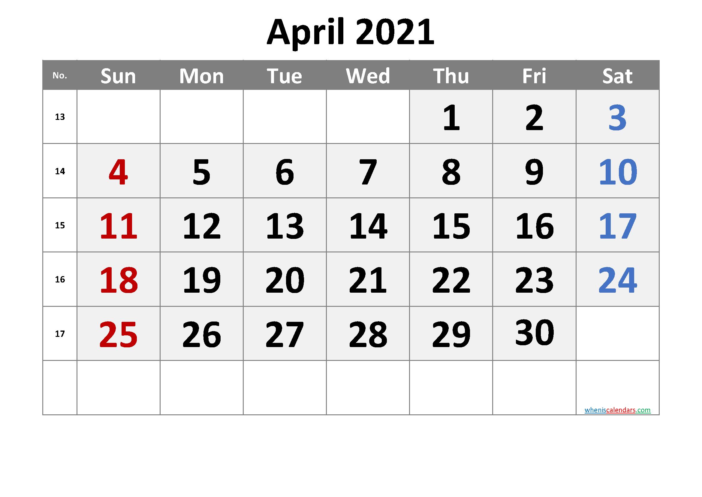 Free Printable April 2021 Calendar Premium In 2020 Printable Calendar July Calendar Printables Printable Calendar