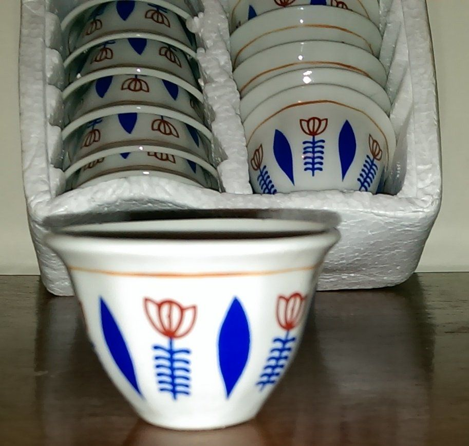Traditional Ethiopian Eritrean Coffee Cups Cinis Free Shipping Through Out The World