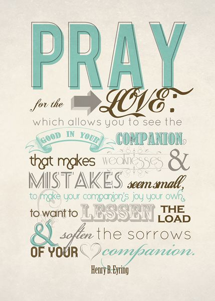 It Works For Bobbi!: Pray For The Love - Free Printable Download!