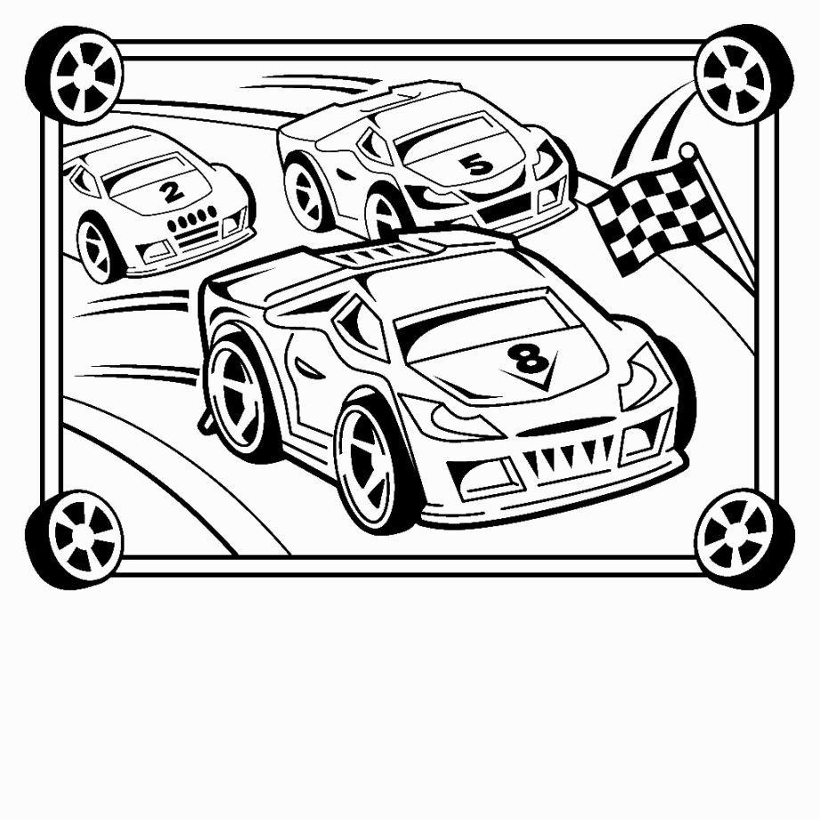 Race Car Coloring Pages Race car coloring pages, Cars