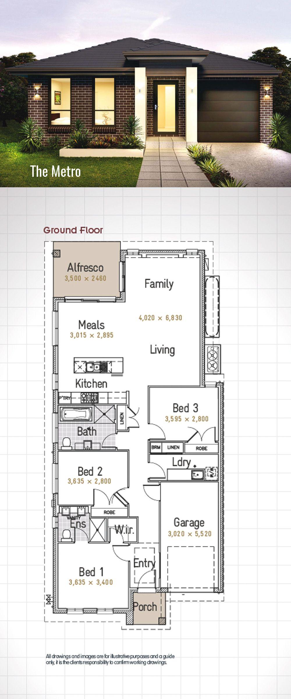 single storey house design the u0027metro u0027 smart practical and