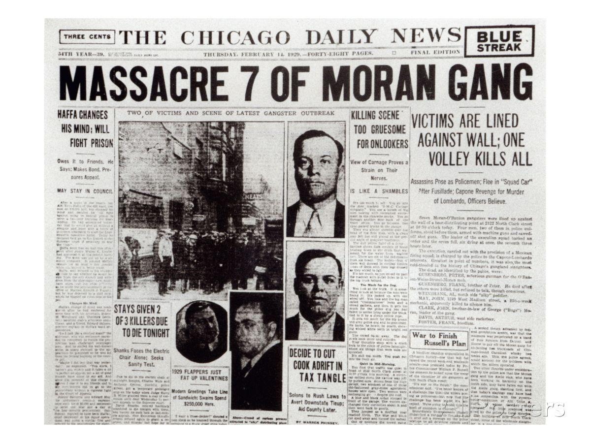 Dec 14 1929 In The Saint Valentine S Day Massacre The Single