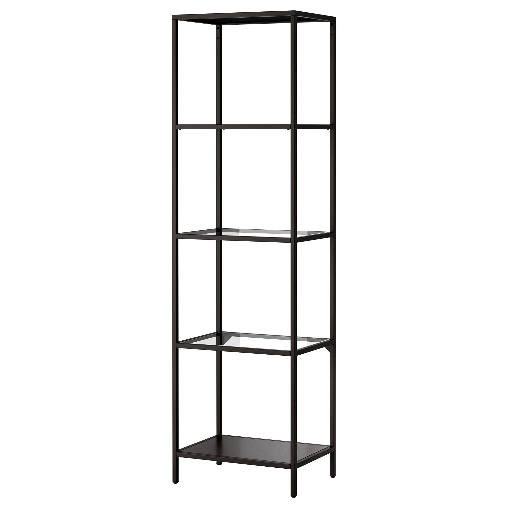 And this matching shelf will fit perfectly in the nook beside the chimney in the office, and matches the desk. For cheap. $40.00 VITTSJÖ Shelving unit - IKEA