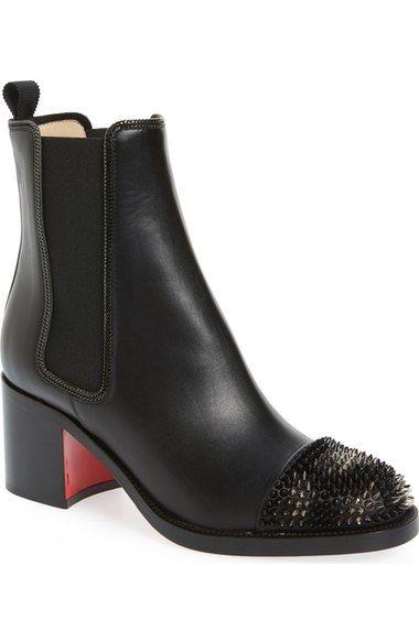 free shipping 29c29 d07b6 Christian Louboutin 'Otaboo' Spike Chelsea Boot (Women ...