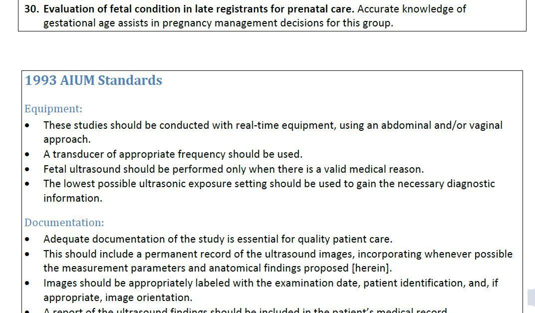 Routine Use of Obstetric Ultrasound Ultrasound PDF