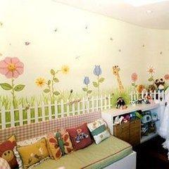 Decoracion piezas de bebe pintura en murales for Decoracion piezas infantiles