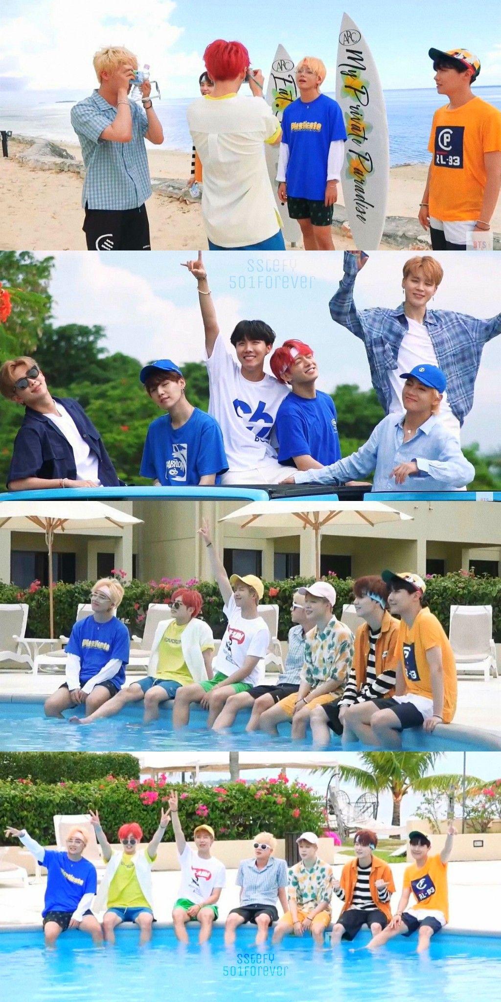 BTS Summer Package in SAIPAN (2018)