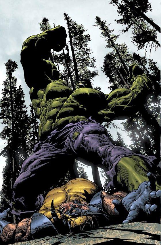 Classic Hulk Vs. Wolverine