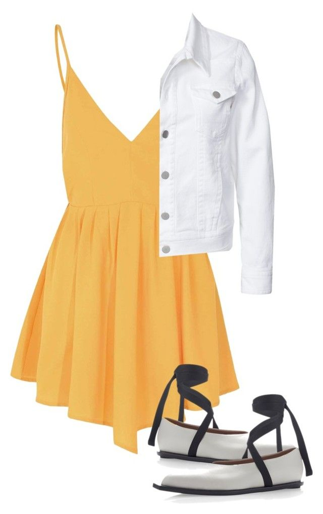 """Walking on sunshine"" by mfkapocias ❤ liked on Polyvore featuring Glamorous, Marni and Filippa K"