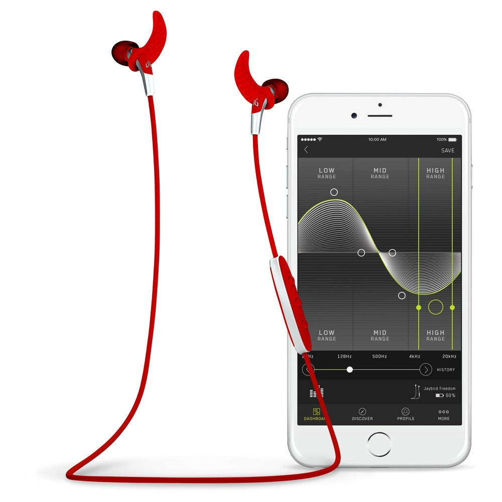 Jaybird Freedom Blaze Bluetooth Headset - Red