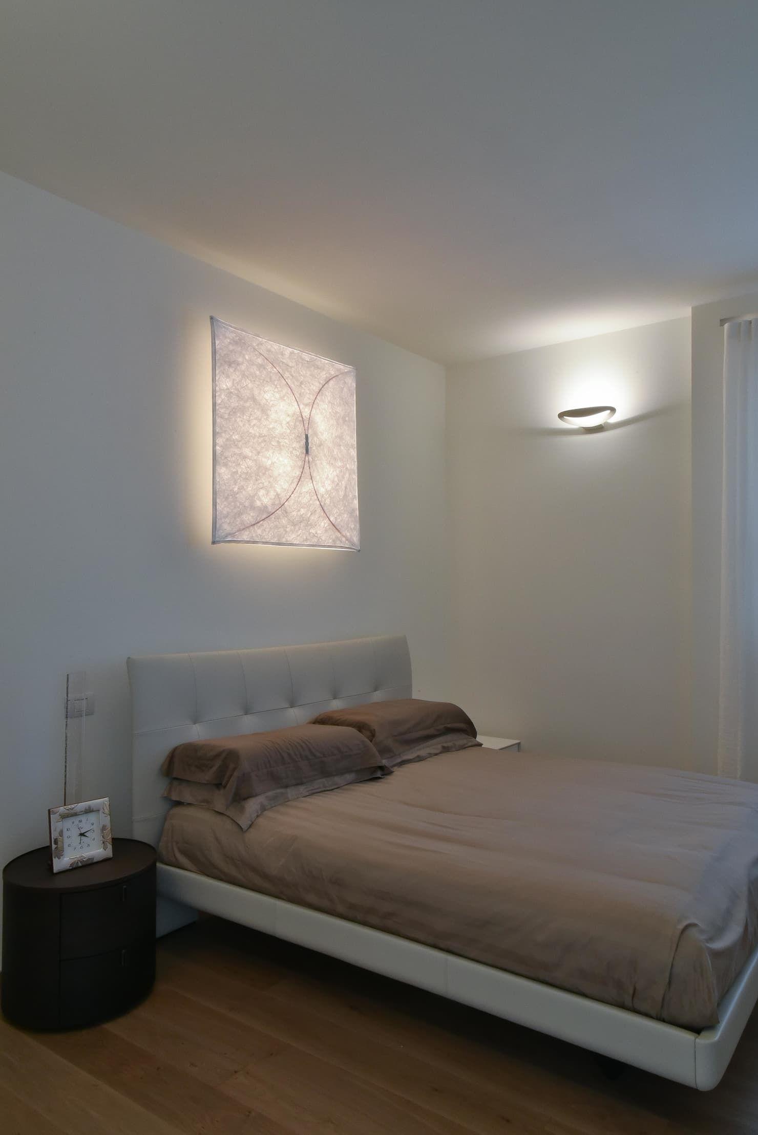 Ristrutturazione villa anni 70: camera da letto in stile di claude ...