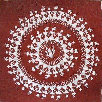 Indian folk art ... celebration! Unity ! music !