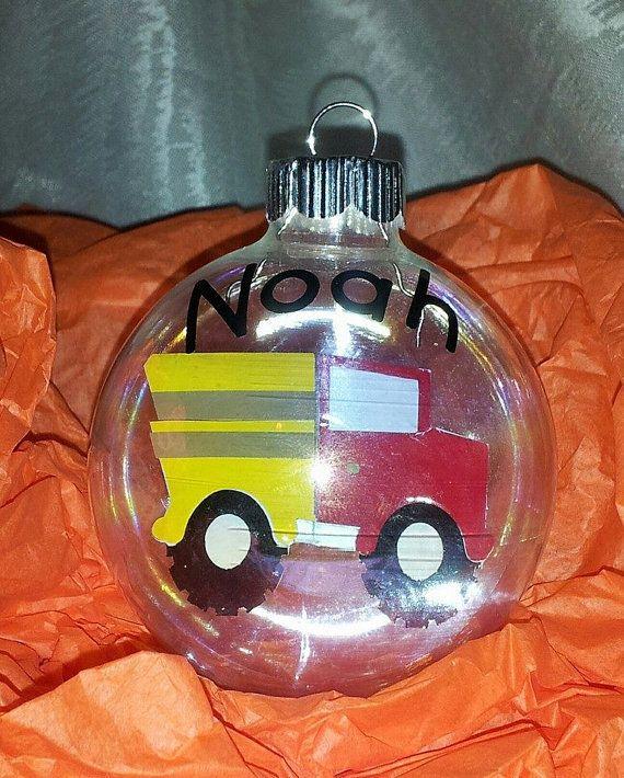 Dump Truck dumptruck Floating  Christmas ornament by KikisKornerSC, $12.00