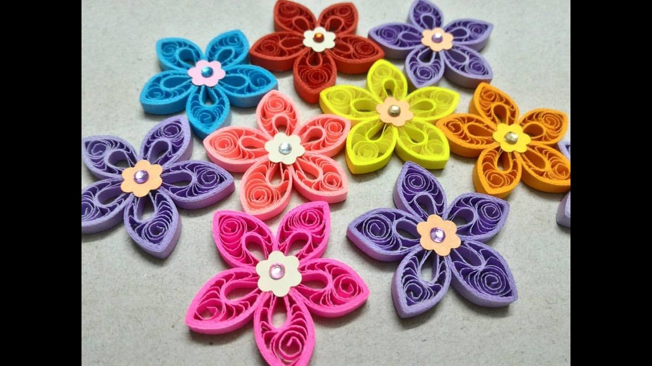 Marquise Shaped Malaysian Flower Tutorial Papel Paper Works