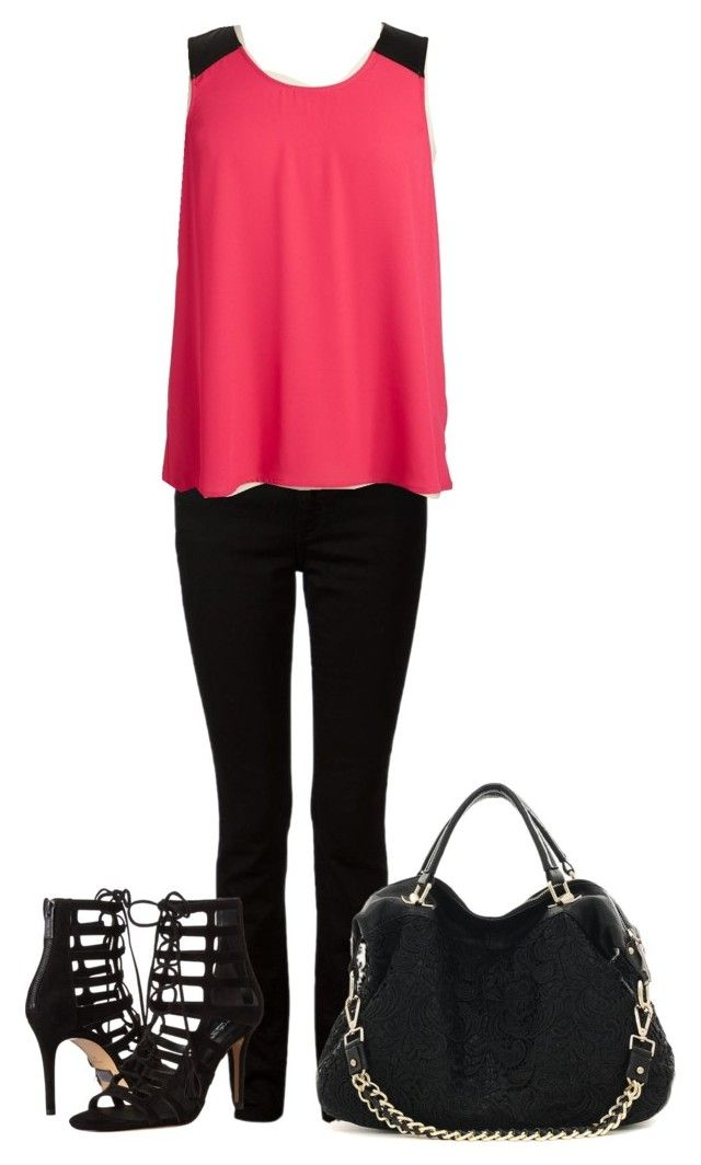 """Untitled #445"" by lt-forand on Polyvore featuring T By Alexander Wang, BB Dakota, Michael Kors and plus size clothing"