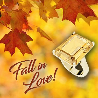 Fall in #love with #Citrine & #Topaz #jewelry. Now thru the month of #November up to 50% off the #birthstone of the month. #HappyBirthday