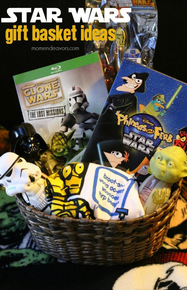 Star Wars Gift Basket Ideas Baseball Gift Basket Movie Basket Gift Movie Gift & Star Wars Gift Basket Ideas | Bloggersu0027 Fun Family Projects | Movie ...