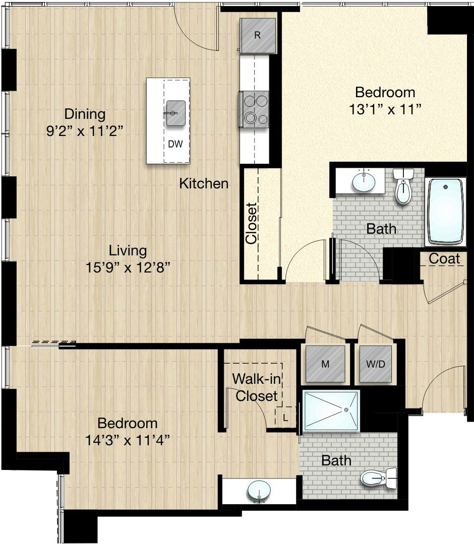 The Apartments At Citycenter: The Apartments At CityCenterDC! #apartments