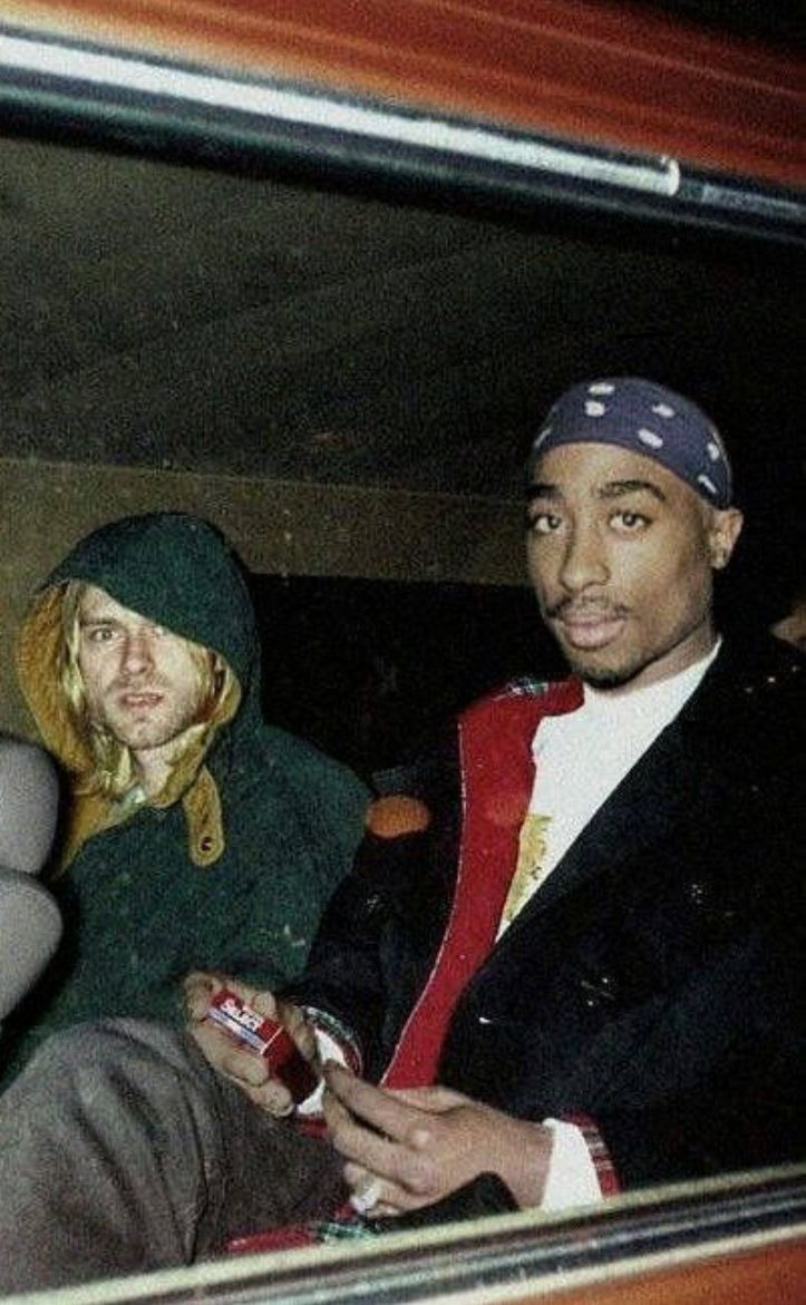 Tupac Shakur And Kurt Cobain Wallpaper Dopeshit In 2019