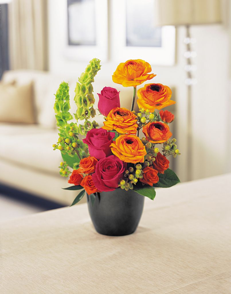sophisticated centerpiece adds style to your home contact us today to order a custom made - Home Decor Flowers