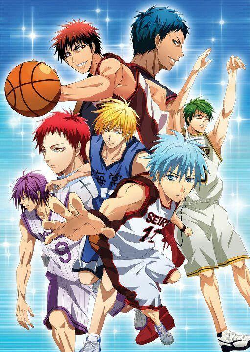 Kiseki No Sedai And Kagami Kuroko Kuroko No Basket Kuroko S Basket