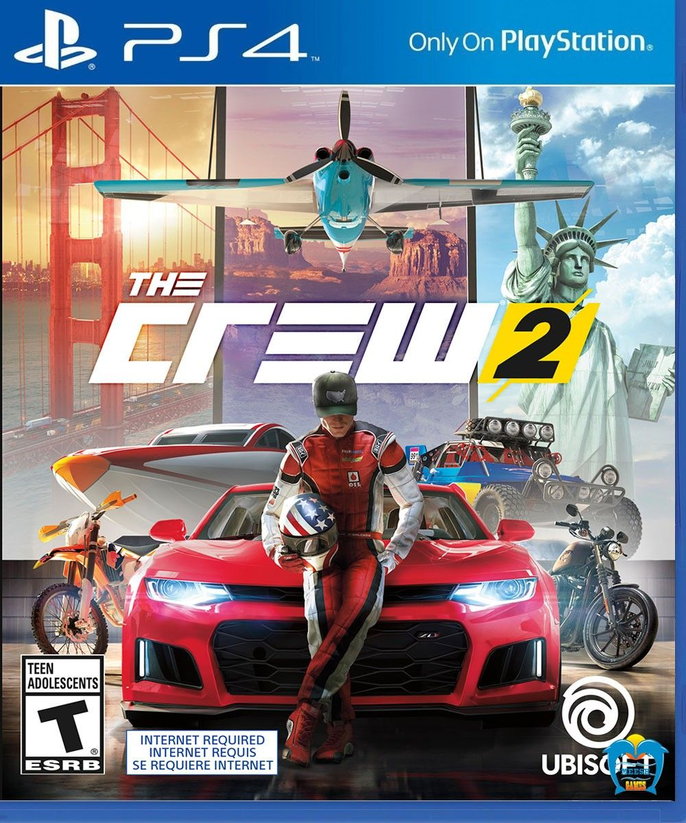 PS4 High Defination The Crew 2 Game ps4