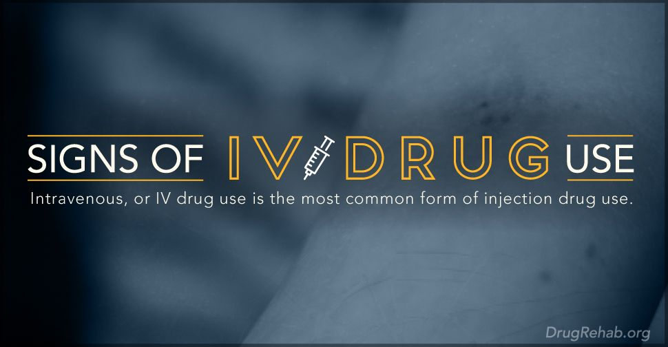 Learn The Signs Of IV Drug Use | From DrugRehab org Blog