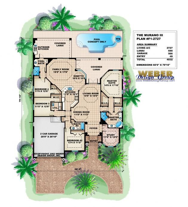 Awesome House Plans With Pool Contemporary - 3D house designs ...