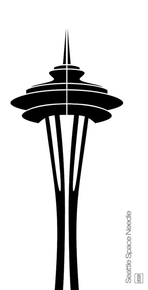 needle jpg 500 978 p rocks pinterest seattle rh pinterest com space needle vector clip art seattle space needle vector