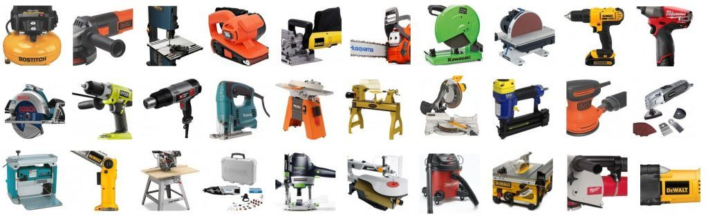 The Essential List Of The Different Types Of Power Tools Power
