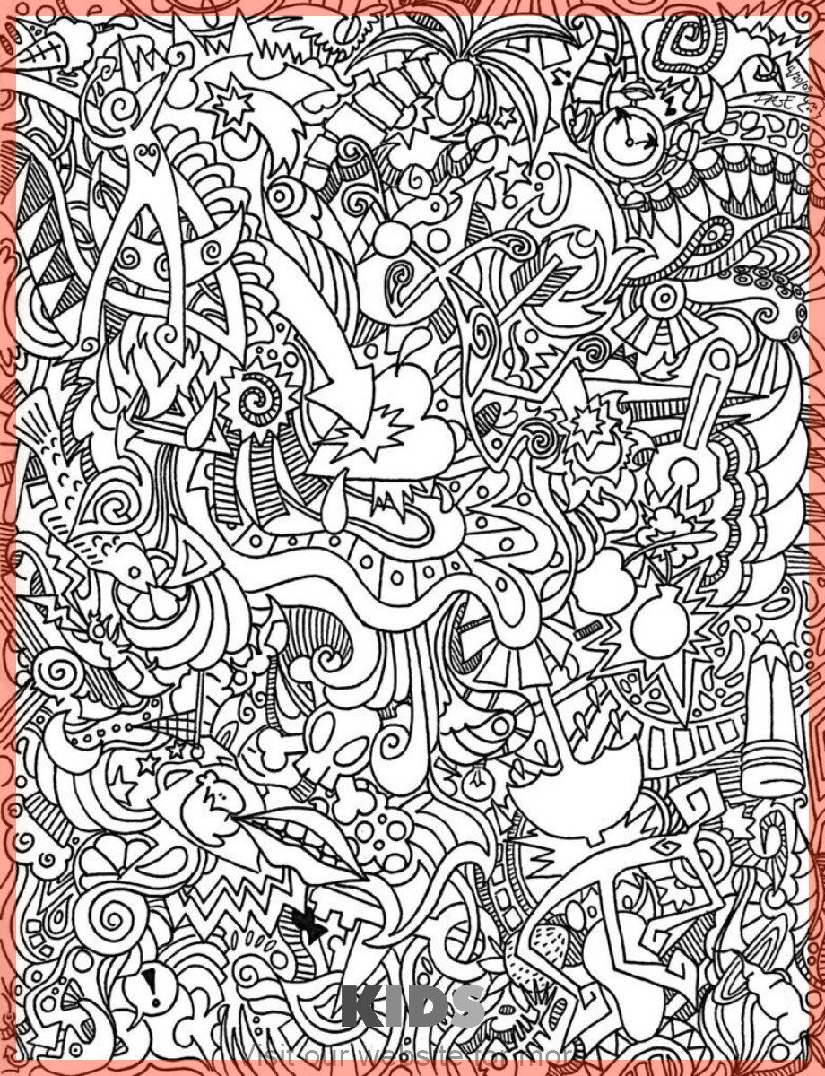 Christmas Craft For Kids Best In 2020 Abstract Coloring Pages