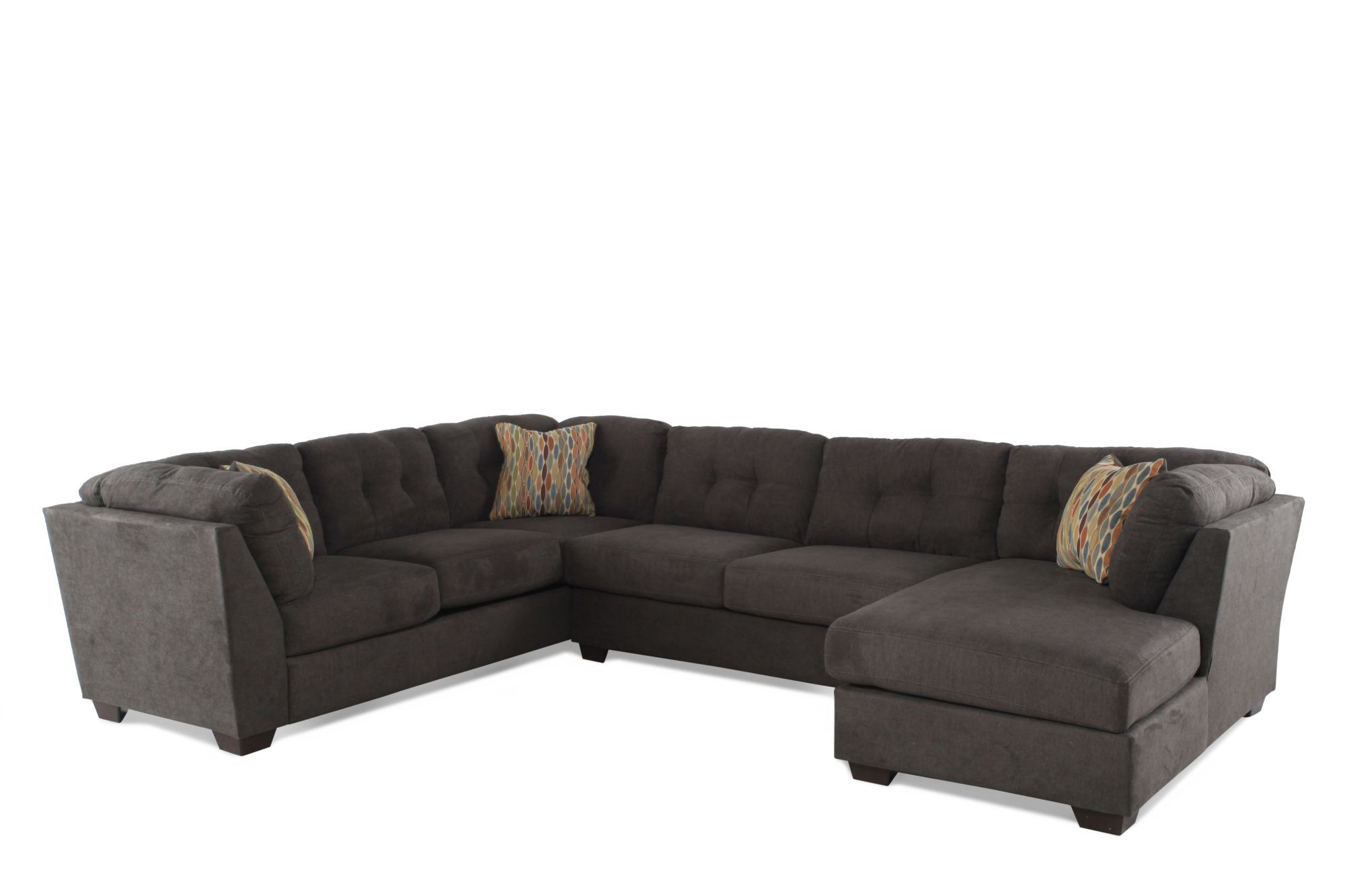 Ashley Delta City Steel Three-Piece Sectional | Couches for Living ...