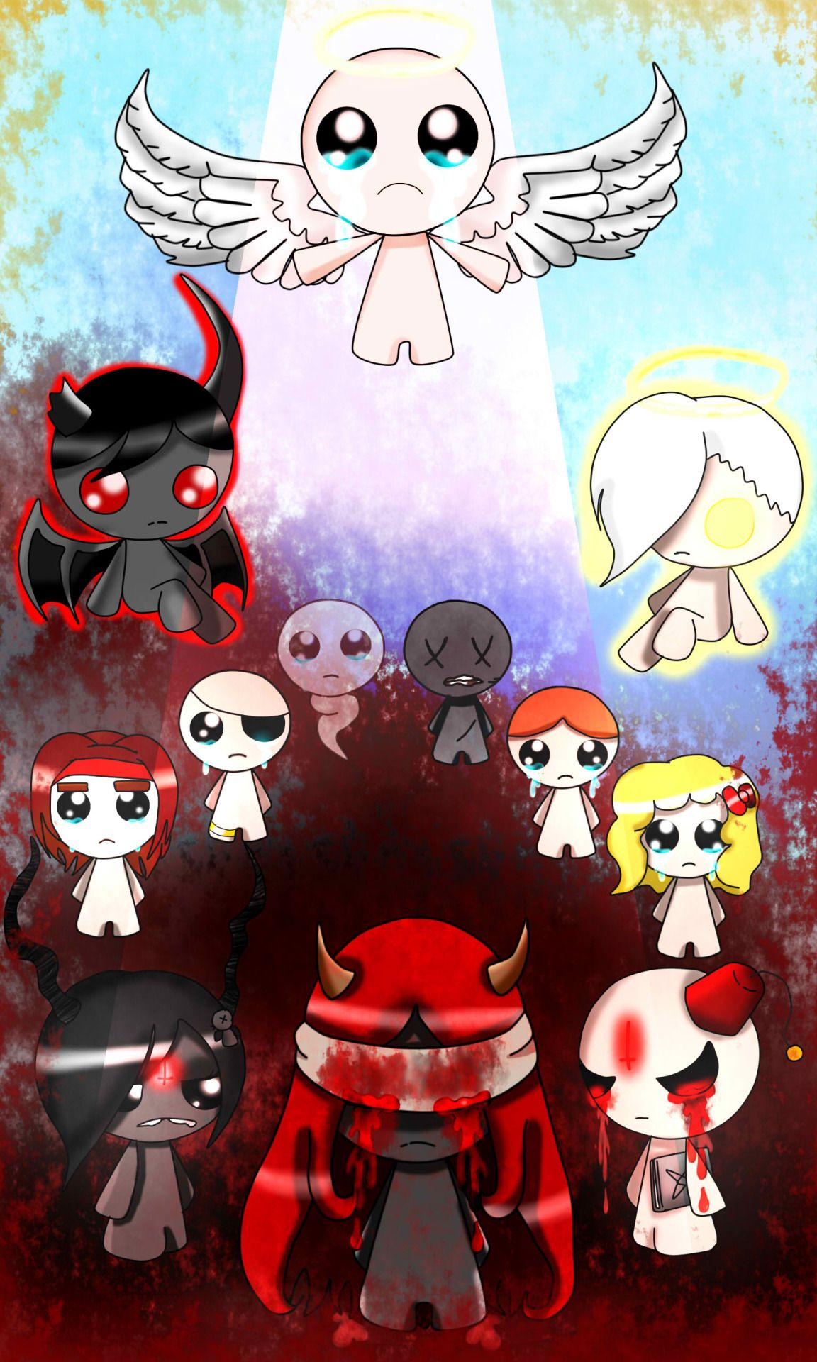 Binding Of Isaac Bedroom: Deadbirdeve: A Fanart Of The Binding Of Isaac, I Wanted To