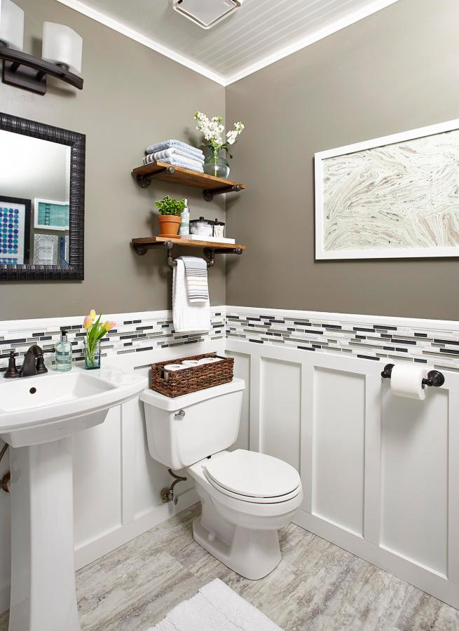 powder room ideas better homes gardens with bathroom on bathroom renovation ideas 2020 id=22453