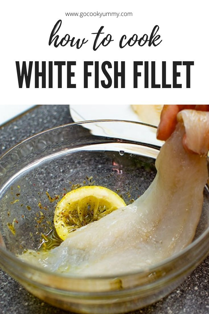 how to cook whitefish fillets