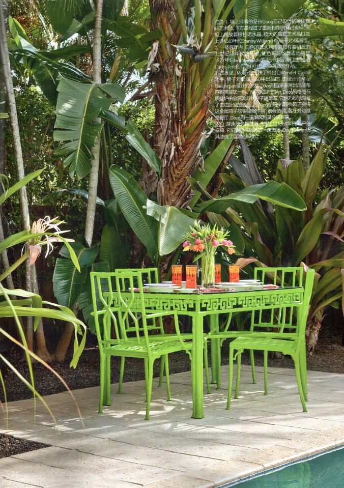 Pool Side Doug Meyer S Miami House Backyard Palm