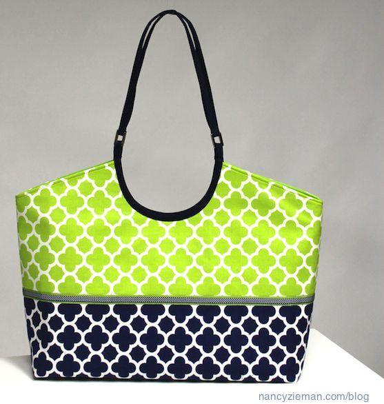Nancy Zieman/Clover/Trace 'n Create Bag & Tote Templates | Nancy Zieman Blog