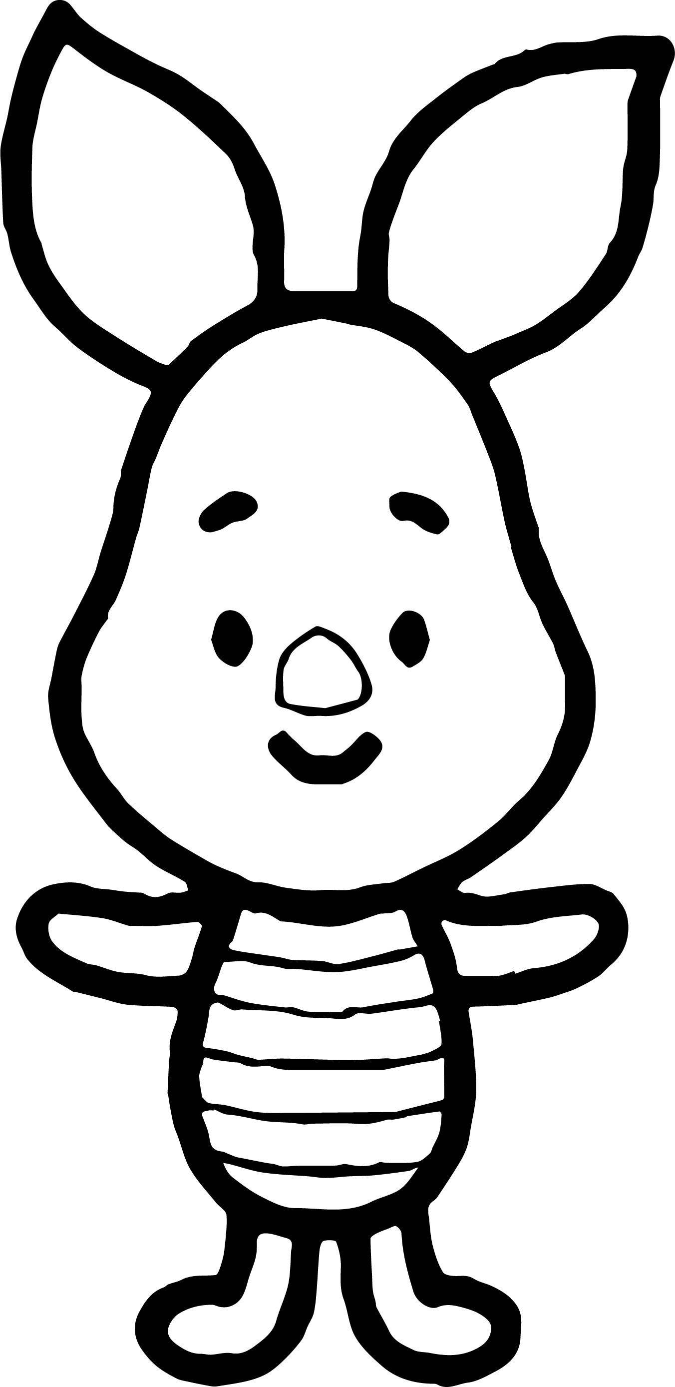 Awesome Piglet Cute Coloring Page Cute Coloring Pages Batman Coloring Pages Dinosaur Coloring Pages